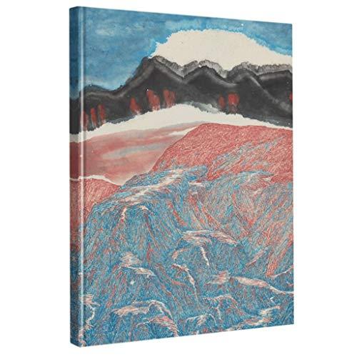 cuadernos de notas Ilustración-clásico Cuaderno en blanco, cuaderno de las hojas intercambiables, for profesionales lápiz, pluma, tinta, dibujo, bosquejo premium libro Arte Marcador blocs de notas