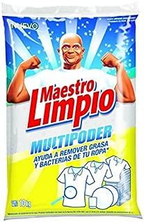 Maestro Limpio Detergente en Polvo Multiusos, 10 kg