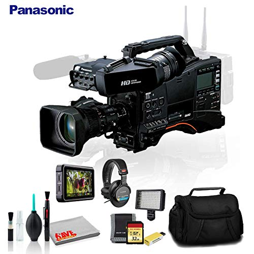 Best Price Panasonic AJ-PX380 P2 HD AVC-Ultra Camcorder with AG-CVF15 Color Viewfinder and 17x Fujin...