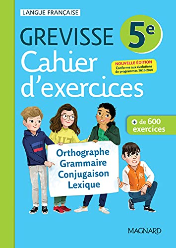 Cahier Grevisse 5e (2021) (2021): Cahier d'exercices