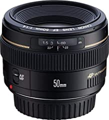 Standard focal length 50 millimeter lens is effective in a multitude of shooting situations and ideal for day-to-day shooting Elements/Groups: 7/6, Diaphragm: Blades 8, Filter Thread: Font 58 millimeter. Minimum focusing distance: 17.8 inch An f/1.4 ...