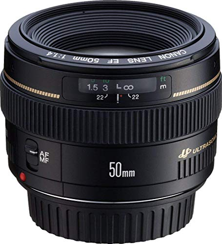 Canon EF 50mm f/1.4 USM Standard and Medium...