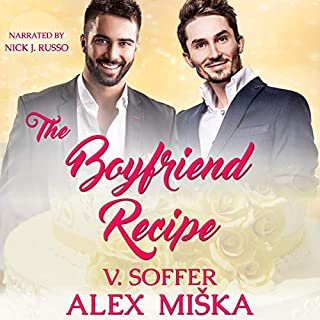 The Boyfriend Recipe audiobook cover art