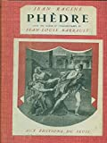 Phedre - Editions Du Seuil