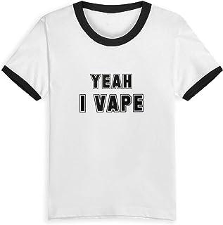 386d46cfa36c Gomop Yeah I Vape Children s Short Sleeve Tee Short T Shirts