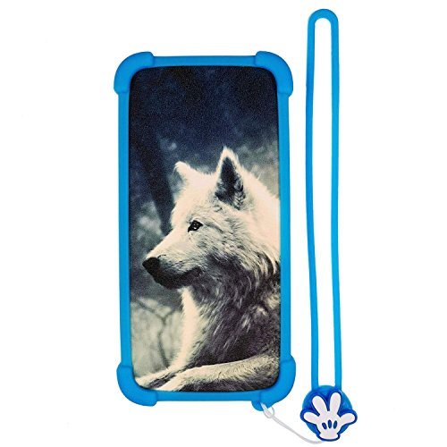 Funda para Weimei Neon Funda Silicone Border + Placa Dura de la PC Stand Carcasa Case Cover Lang