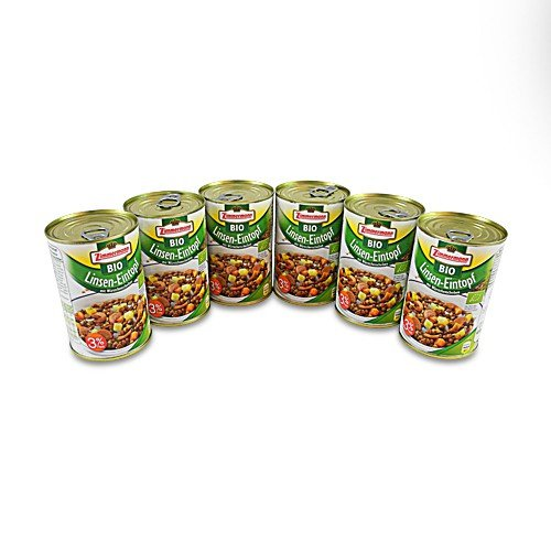 BIO Linsen-Eintopf 6er Pack (6 Dosen à 400 ml)