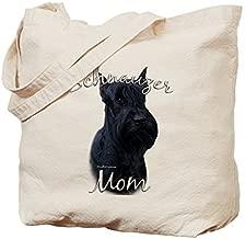 Schnauzer Mom2 - Cotton Canvas Shopping Bag, Tote Bag designed by WenNuNa