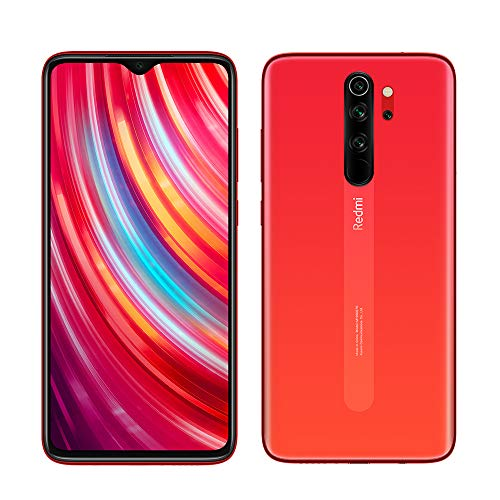 Xiaomi Redmi Note 8 Pro 6 GB 128 GB, 64 MP AI Quad Kamera, 4500 mAh Akku, 20 MP Frontkamera, Dual SIM, 64 MP AI Quad Kamera, 6.53 Zoll Full Display, EU Version Orange