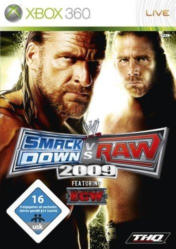 XB360 WWE Smackdown VS RAW 2009, USK 16
