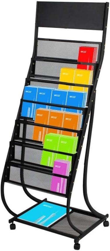 Baiyun Flyin Iron Topics on TV Data Magazine Rack Brochure D Floor Removable Sales for sale