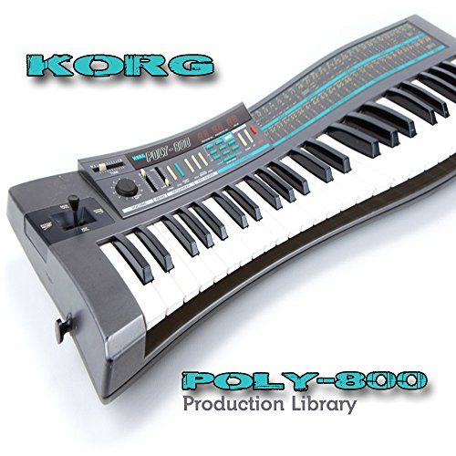 Best Price! KORG POLY-800 - THE very Best of - Large Sound Library - Original Samples in WAVEs forma...
