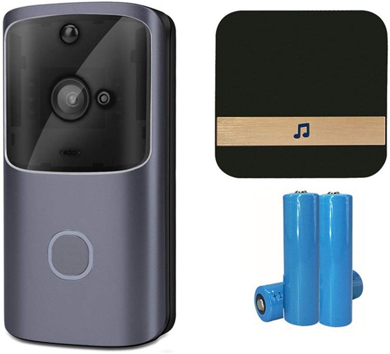 LINANNAV Smart WiFi video doorbell Home mobile phone remote monitoring camera low power doorbell video voice intercom