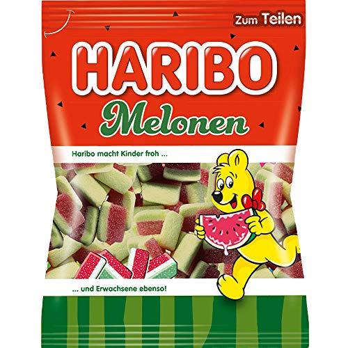 Haribo Melonen 10 Beutel 175 gramm fruchtgummi Wassermelone
