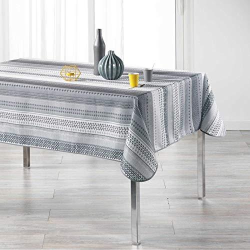 Arte Provenzale TOVAGLIA ANTIMACCHIA Dis.CHACANA Rettangolare, per Sala da Pranzo e Cucina (300_x_150_cm)