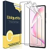 [2 Pack] UniqueMe Screen Protector For Samsung Galaxy Note 10 Plus/Samsung Galaxy Note 10+/Note 10 Plus 5G,TPU Clear Soft Film Anti-Scratch