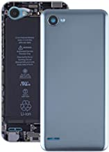 JIN Phone Parts Battery Back Cover for LG Q6 / LG-M700 / M700 / M700A / US700 / M700H / M703 / M700Y(Black) (Color : Grey)