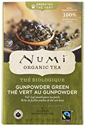 best green tea, organic green tea, numi gunpowder green tea