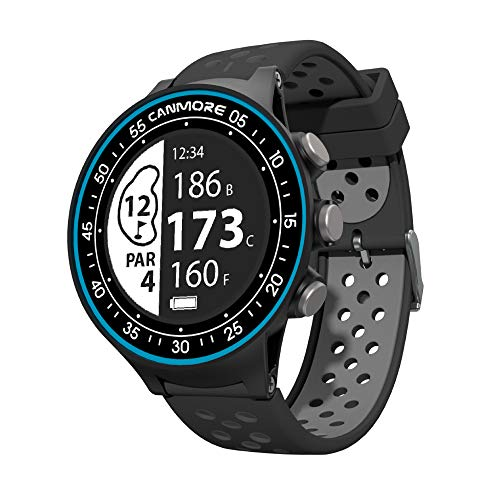 Save %7 Now! CANMORE TW-410G GPS Golf Watch with Step Tracking - 38,000+ Free Worldwide Golf Courses...