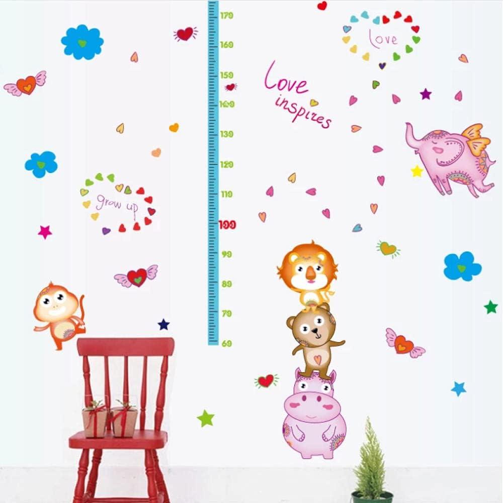 Xueyan Cartoon Kids Miami Mall Height Chart Sticker for Backdrop Wall Genuine Free Shipping Decor