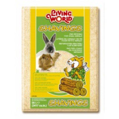 LIVING WORLD Copeau pour Petit Animal 56 L 4 kg