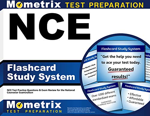 NCE Flashcard Study System: NCE Test Practice Questions & Exam Review for the National Counselor Exa