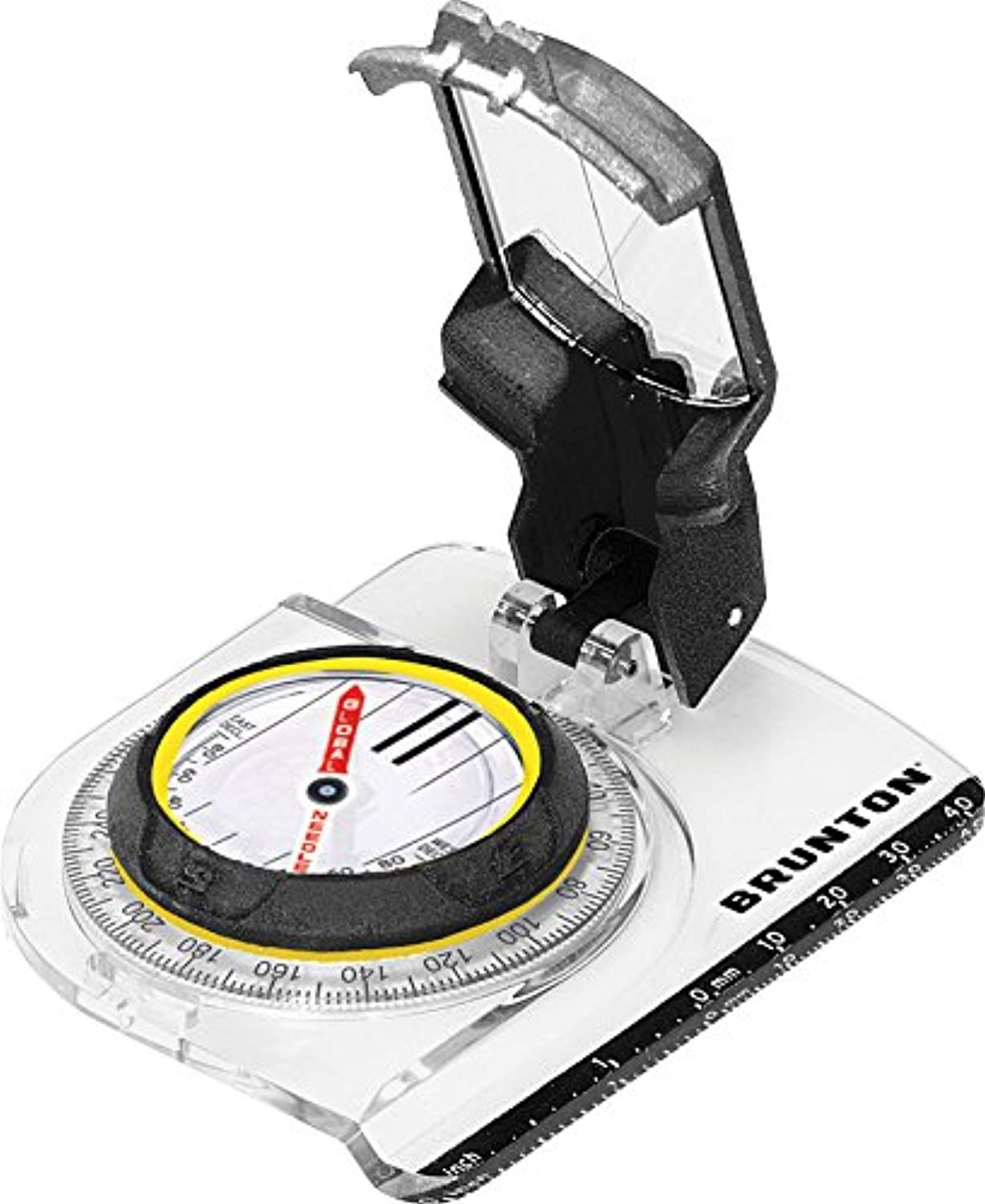 Brunton TruArc7 Mirror Compass with Global Needle and Standard Metric Scales
