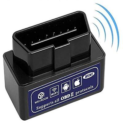 wsiiroon Car Wifi OBD 2, OBD2 Scan Tool, Car OB...