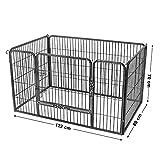 Zoom IMG-2 feandrea recinzione per animali recinto