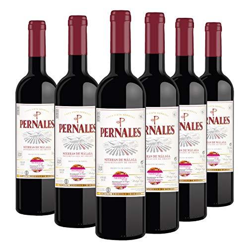 Pernales Syrah - Pack 6 botellas de 75 cl - Vino tinto D.O.