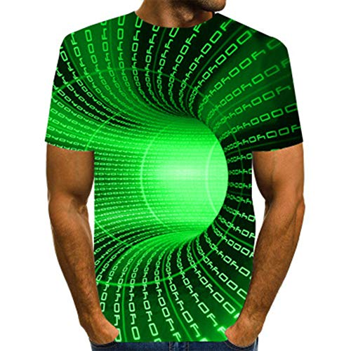 Mr.BaoLong&Miss.GO Männer Neues T-Shirt 3D-Druck Atmungsaktives Und Bequemes Herrenmode-t-Shirt Kann Individuell Bedruckt Werden. Herren Kurzarmhemd