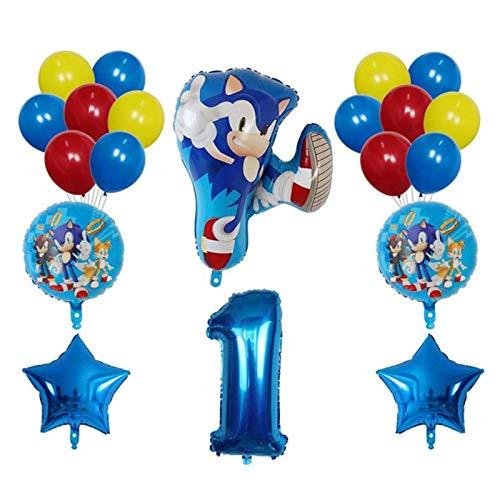 JSJJAES Balloons 20pcs Balloons Super Hero Latex Balloon Boy Girl Happy Brithday Theme Party Decoration Arch Garland Kit Latex Air Globos (Color : 1)