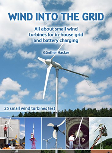 Wind into the Grid: All about small wind turbines for in-house grid and battery charging (English Edition)