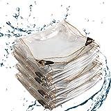 ZHANGQIANG-yubu Pavillon-Schutzhülle für Pavillon Wasserdichter und transparenter Schutz gegen schlechtes Wetter (Size : 3mX3m)