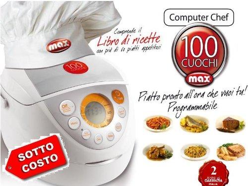 Robot da Cucina Professionale Max '100 CUOCHI' 8 in 1 Nuovo Modello + Ricette