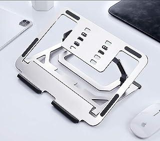 2 in 1 Laptop Stand, KCZAZY Aviation Aluminum Tablet Notebook Computer Adjustable Holder, Ergonomic Bracket Universal Ligh...