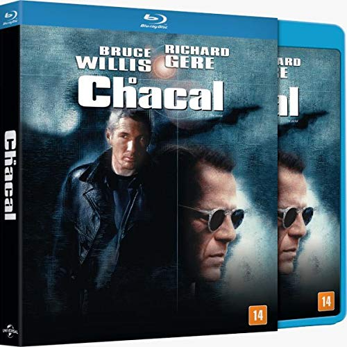 O Chacal Blu-ray (Com Luva) Bruce Willis e Richard Gere