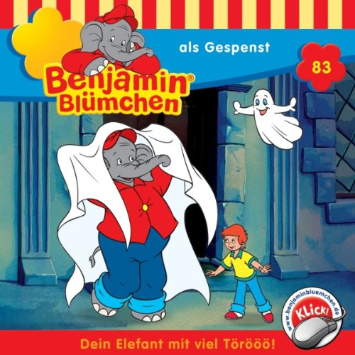Benjamin als Gespenst audiobook cover art