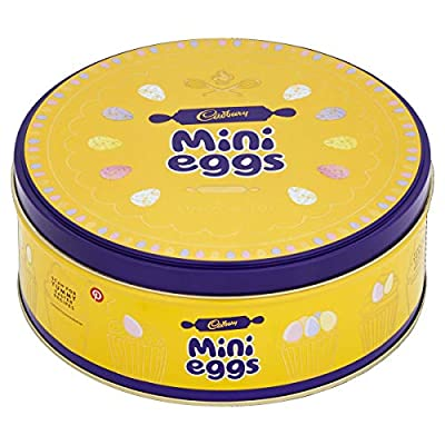 cadbury chocolate mini eggs tin, 319g Cadbury Chocolate Mini Eggs Tin, 319g 517WDrbcW1L