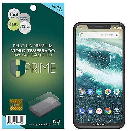 Pelicula de Vidro temperado 9h HPrime para Motorola One Power, Hprime, Película Protetora de Tela para Celular, Transparente