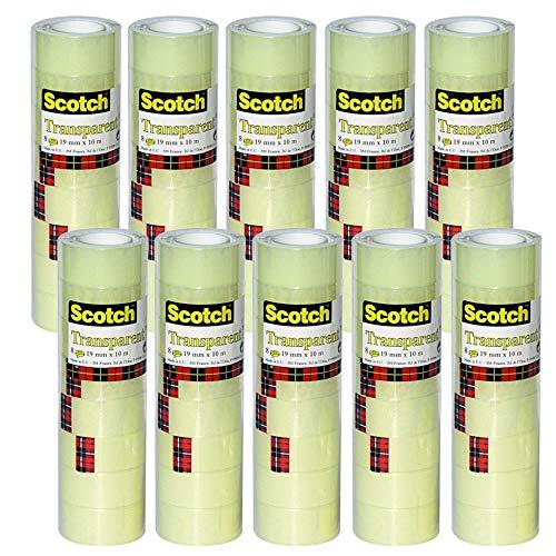 Scotch 5501910 Klebeband 550, 10er Pack | 8 Rollen