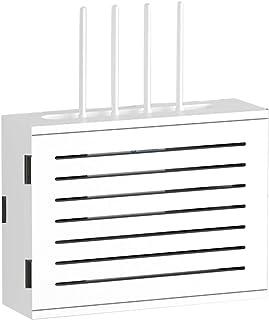 Étagères d'angle Routeur sans Fil WiFi Stockage Optique De Chat Boîte De Blindage De Boîte De Courant Faible Multimédia Hu...