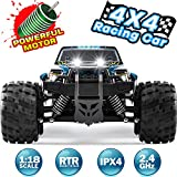 Remote Control Car Newest RC Truck for Kids 4WD 2.4GHZ Off Road 1:18 Scale High...