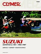 1983-1987 SUZUKI LT185 SERVICE MANUAL/SUZUKI, Manufacturer: CLYMER, Manufacturer Part Number: M381-AD, Stock Photo - Actual parts may vary.