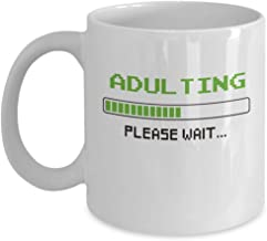 18th Birthday Adulting Coffee & Tea Gift Mug - Gifts for Girls & Boys