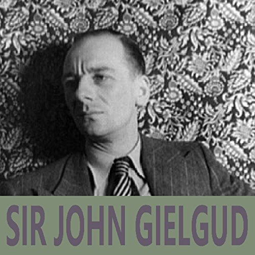 Sir John Gielgud cover art