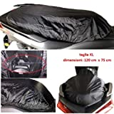 Compatible con Husaberg FC 501 4 Funda para sillín Impermeable Tejido Oxford Talla Funda Impermeable XL para Asiento de Moto Scooter maxiscooter Universal 120 x 75 cm