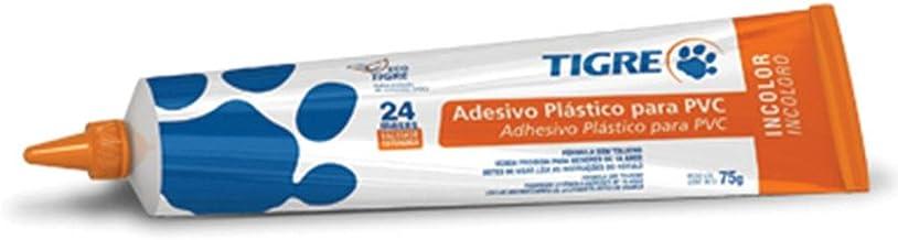 Adesivo PVC Tigre Incolor Bisnaga 75g