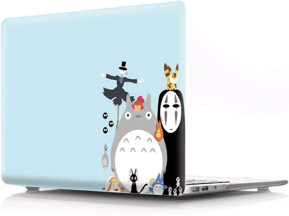 HRH Halloween Totoro Design Laptop Body Shell Protective PC Hard Case for MacBook Air 11