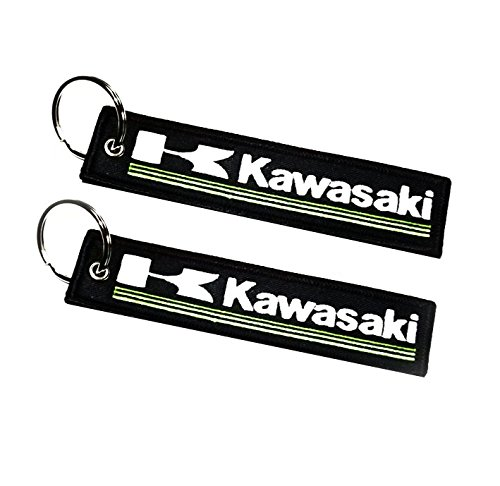 Llavero Doble Cara para Modelos Kawasaki 1 Pieza